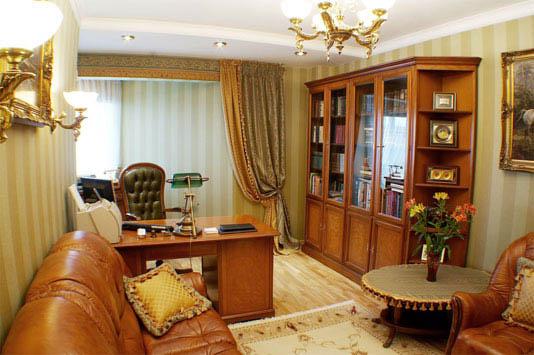 Дизайн квартиры кабинет